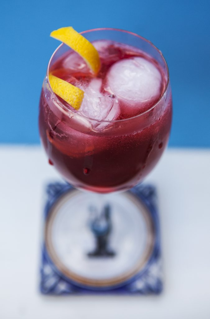 Blackberry Cocktails - Blackberry Spritz