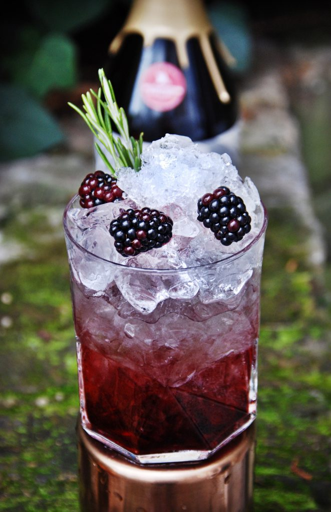 Blackberry Cocktails - Cornish Bramble