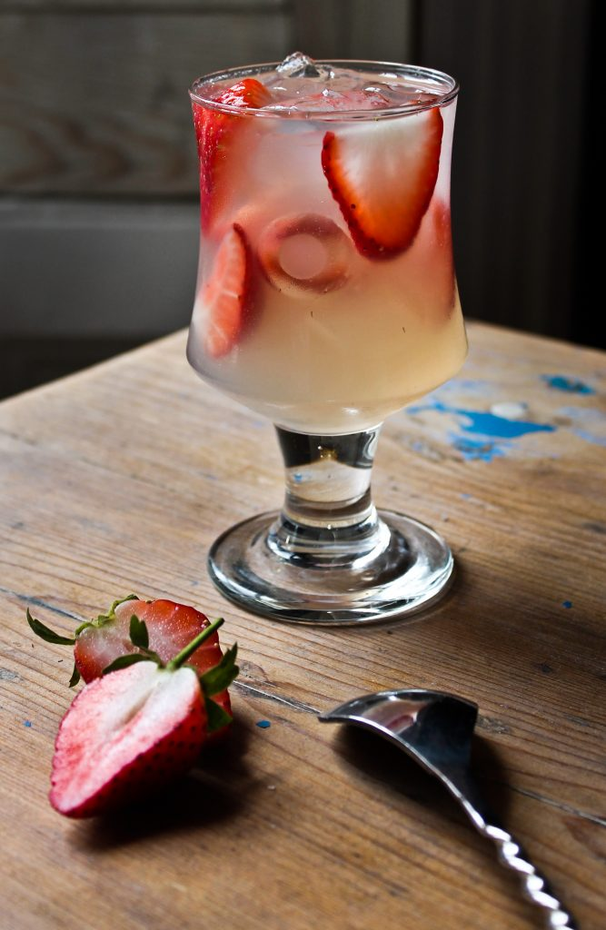 Pastis Cocktails - Cornish Strawberry Fields