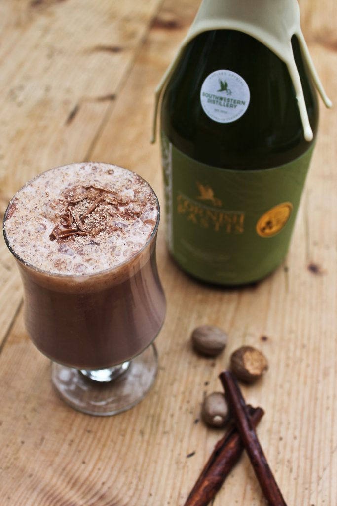 Pastis Cocktails - spiked hot chocolate