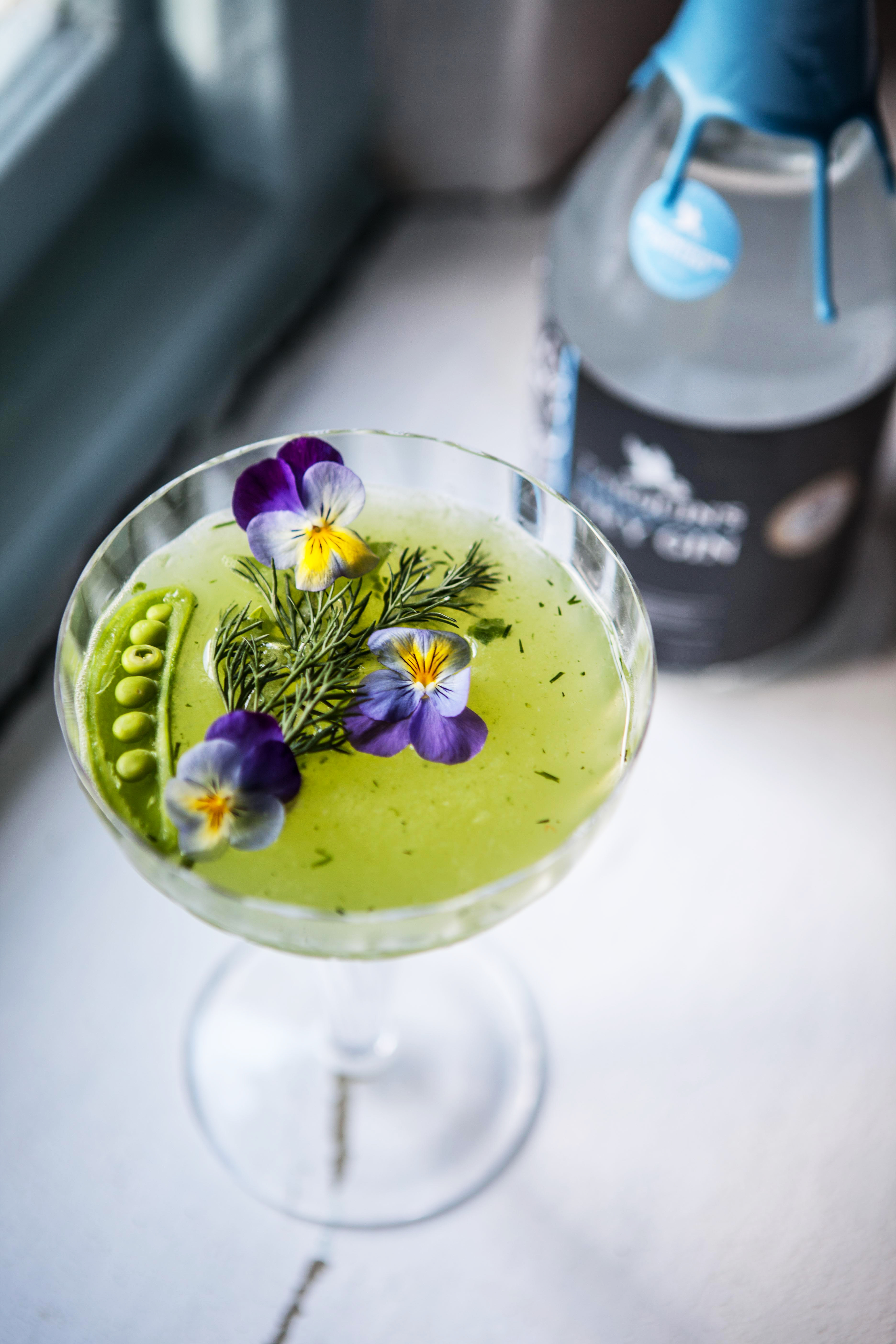 Tarquin's Dry Cocktails - Cornish Garden smash