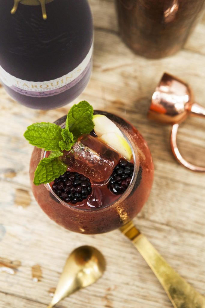 Blackberry Cocktails - Cornish Blackberry Mule (new)